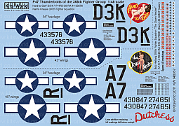 Kitsworld Kitsworld 1/48 Scale Decal Sheet KW148057~