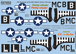 Kitsworld Kitsworld 1/48 Scale Decal Sheet KW148061~