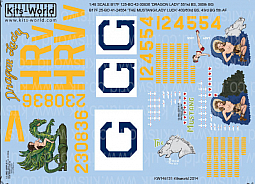 Kitsworld Kitsworld  - 1/48 Scale Decal Sheet B-17 Flying Fortress
