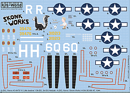 Kitsworld Kitsworld  - 1/72 A-20 Douglas Havocs Kitsworld KW172147 A-20G Douglas Havoc