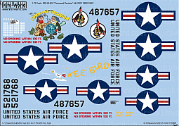 Kitsworld Kitsworld  - 1/72 Scale Decal Sheet B-29 Super Fortress KW172066