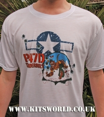 Kitsworld Kitsworld Nose Art T-Shirts P-47 Deacon Dandy Nose Art T-Shirt P-47D Deacon Dandy~~