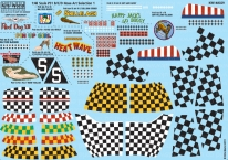Kitsworld Kitsworld American Nose Art P51B/C/D  Mustang - 1/48 Scale Decal Sheet