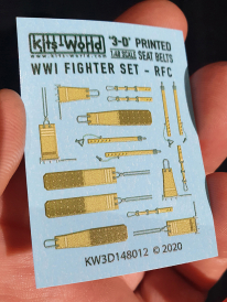 Kitsworld WWI Fighter Set - Royal Flying Corps and the Royal Naval Air Service Seat Belt
